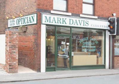 Mark Davis Optician Spondon Front