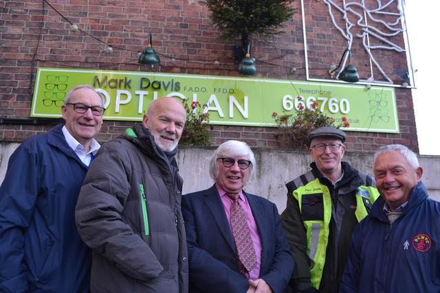Mark Davis Sponsors Derbyshire ConstabularyMale Voice Choir